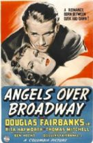 Angels Over Broadway 1940 DVD - Douglas Fairbanks Jr / Rita Hayworth